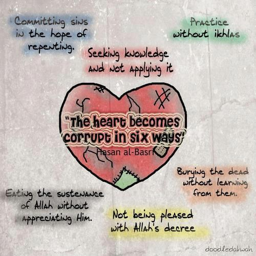 6 things that corrupt the heart
