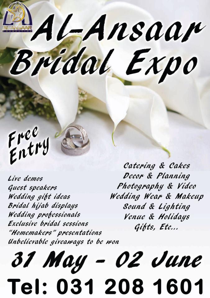 Al Ansaar Bridal Expo 2013