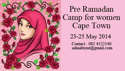 Pre-Ramadan Camp for Muslimahs