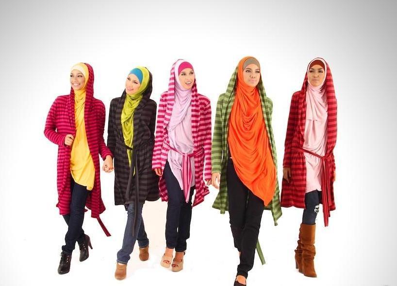 Hoodie Hijab Fashion