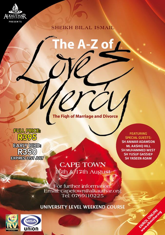 CPT : A-Z of Love & Mercy