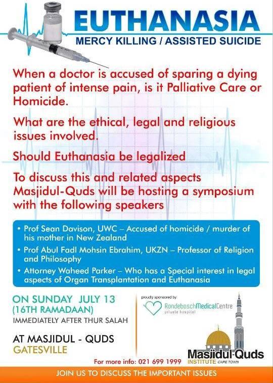 Euthanasia Symposium