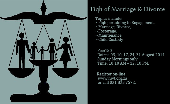 Fiqh of Marriage and Divorce