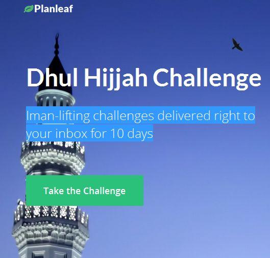 Dhul-Hijjah Challenge 2014