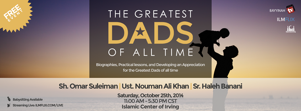 Webinar : Greatest Dad's of All Time
