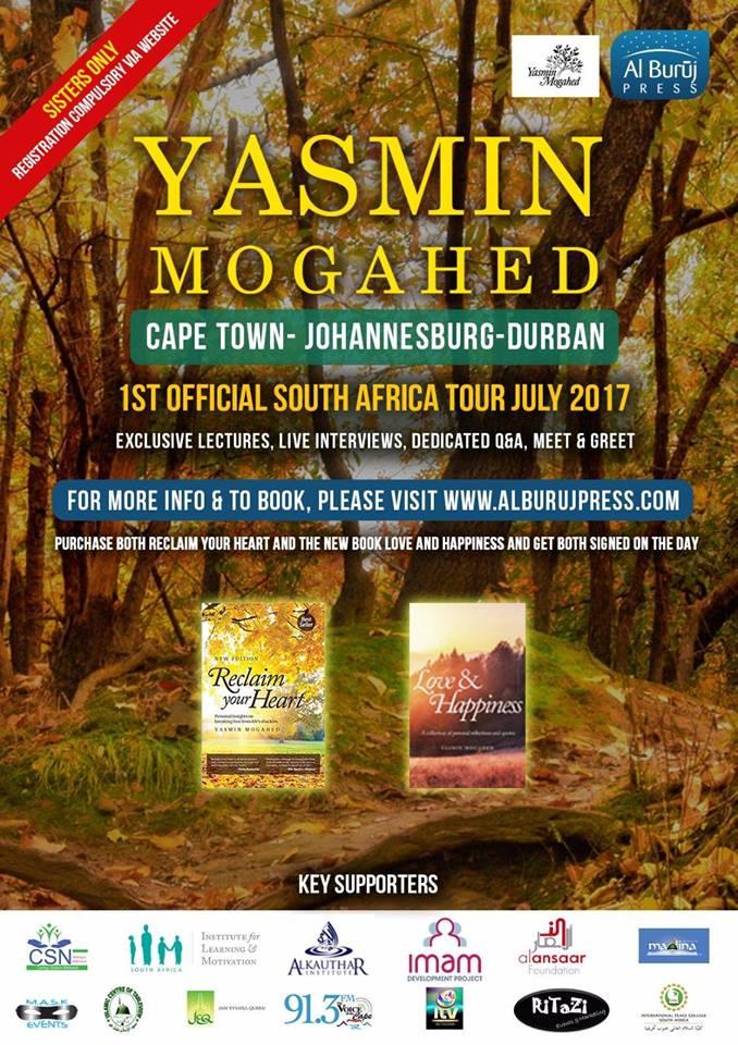 Yasmin Mogahed South Africa Tour