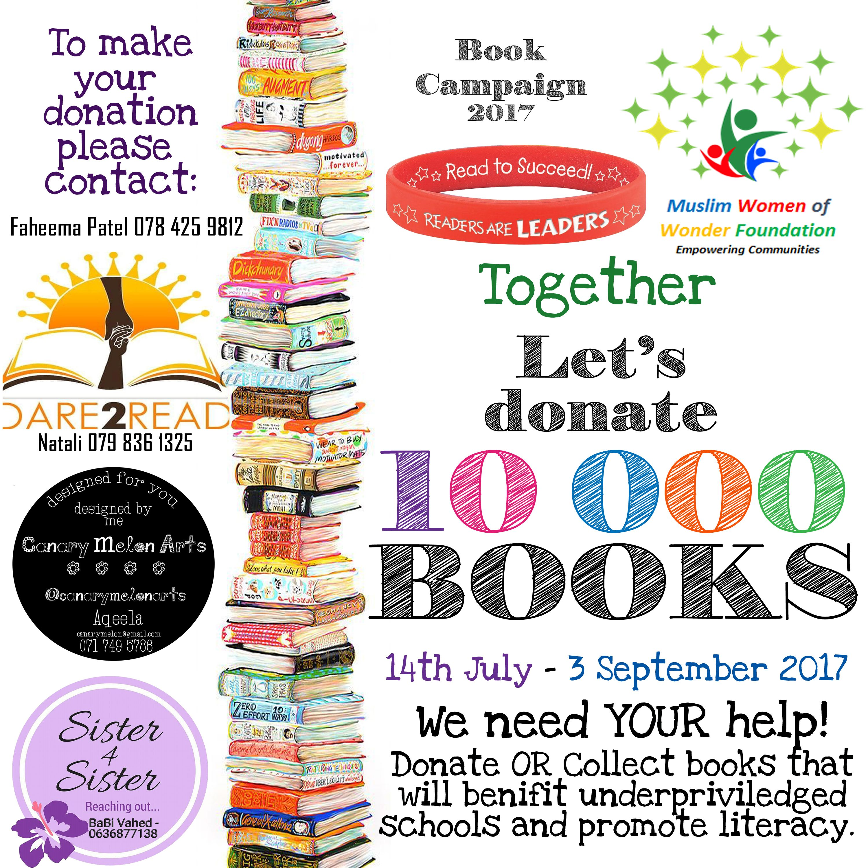 Donate: 10 000 Books