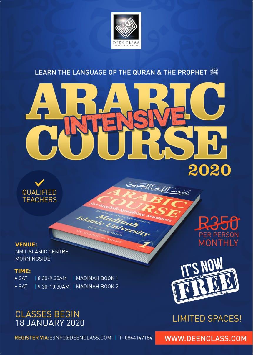 DBN: Free Weekly Arabic Class