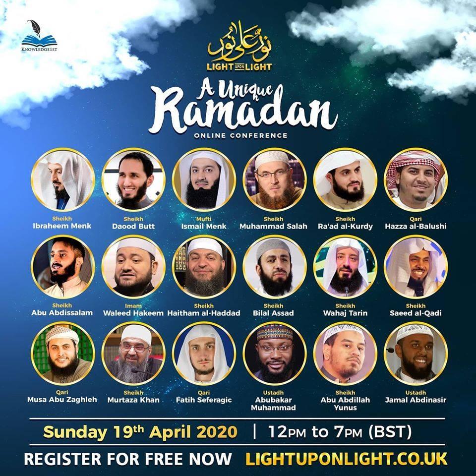 A Unique Ramadan Online Conference